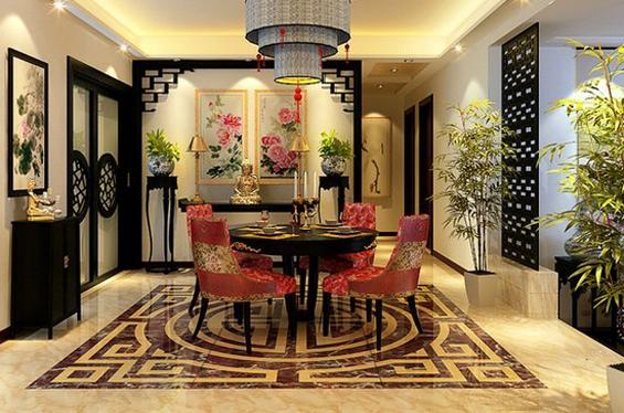 中式风格餐厅设计美图